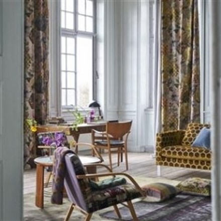 Længdegardin Palace flower by Designers Guild