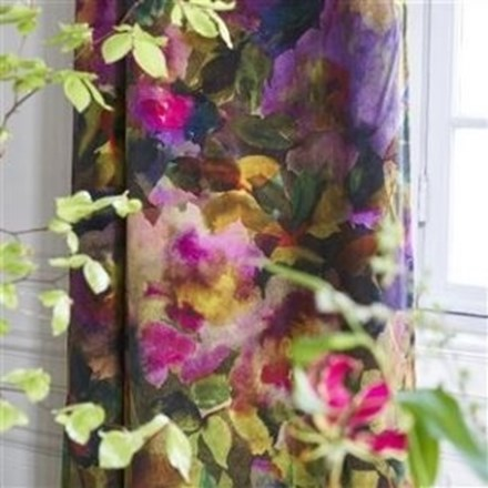 Længdegardin Surimono berry by Designers Guild